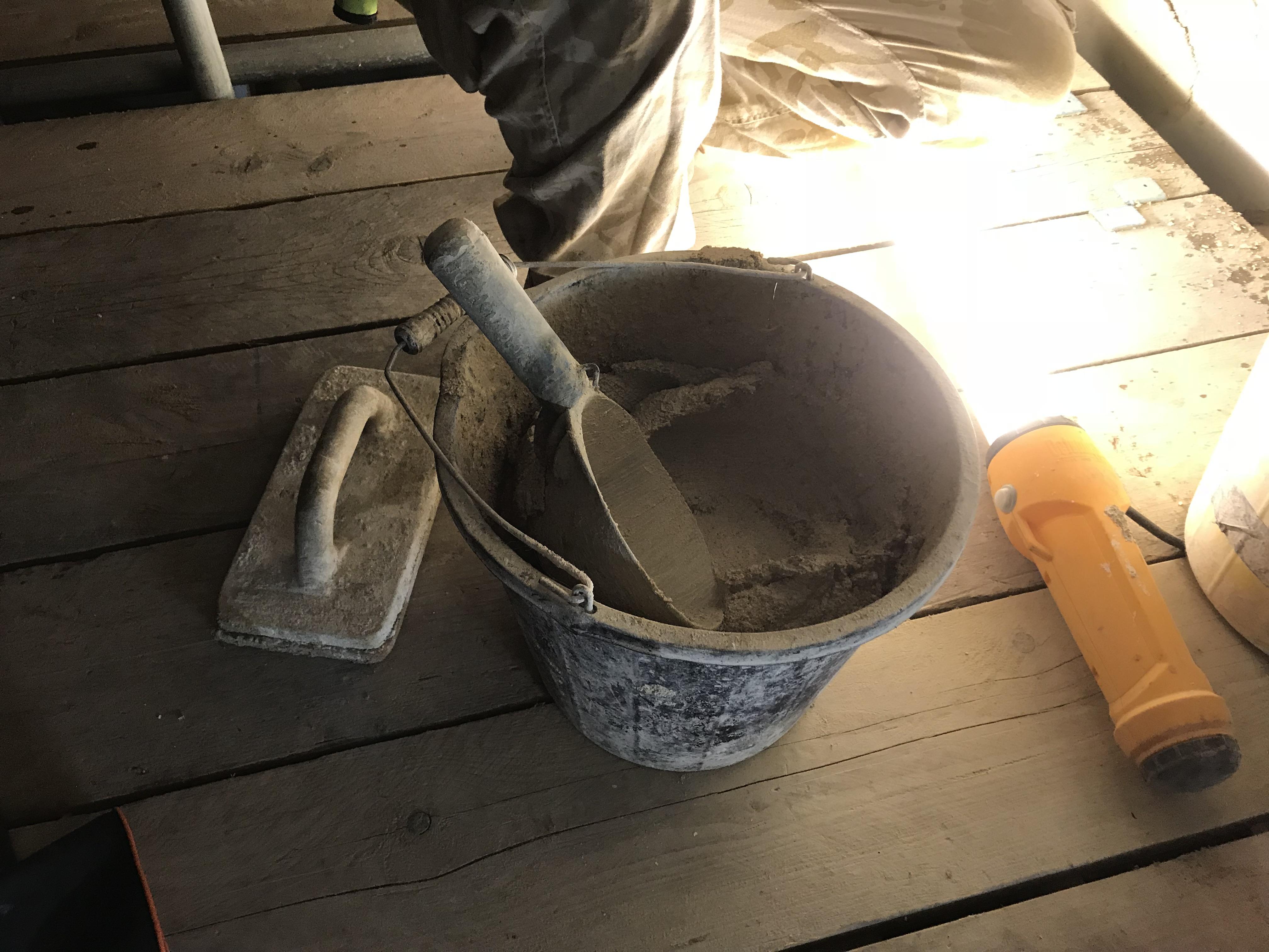 Mixing Mortar