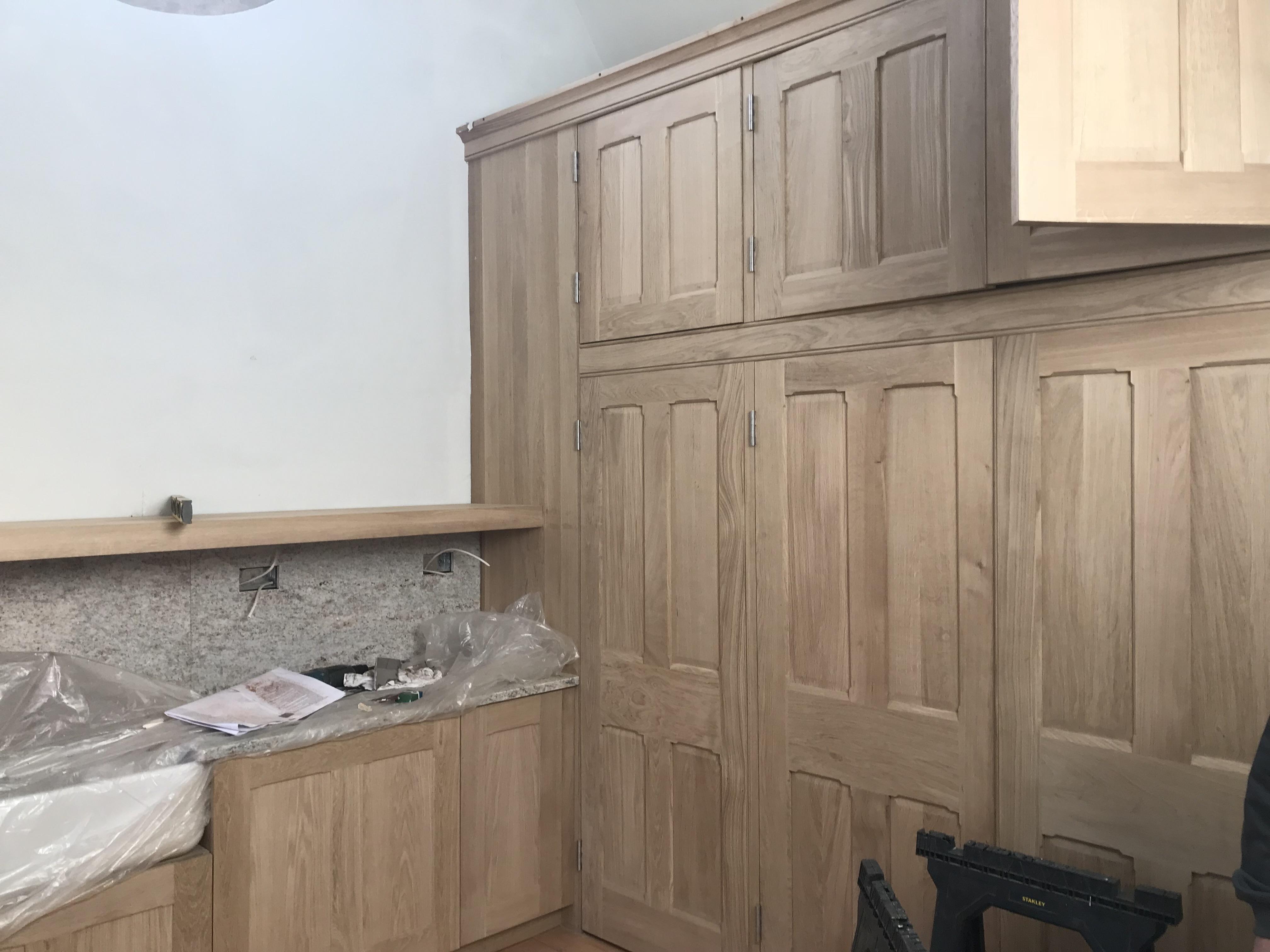 New sacristan's cupboards